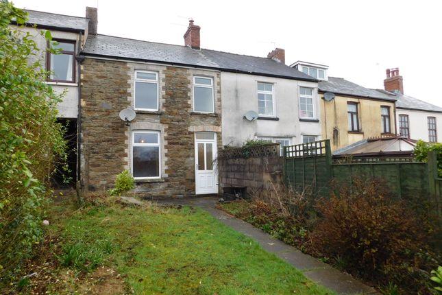 Thumbnail Terraced house to rent in Garth Terrace, Bassaleg, Newport