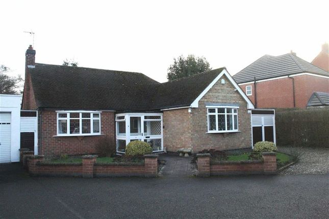 Thumbnail Detached bungalow for sale in Penny Long Lane, Leicester Forest East, Leicester