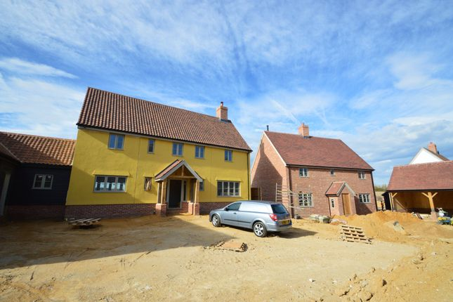 Thumbnail Detached house for sale in The Street, Stradishall, Newmarket
