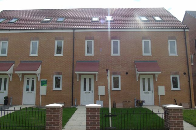 Thumbnail Town house to rent in Wingate Way, Ashington