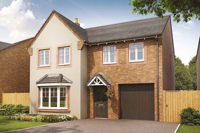 Thumbnail Detached house for sale in Plot 138, The Haddenham, Meadowbrook, Durranhill, Carlisle