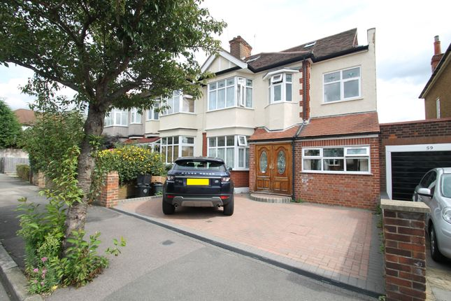 Thumbnail Semi-detached house to rent in Cranbourne Avenue, Wanstead
