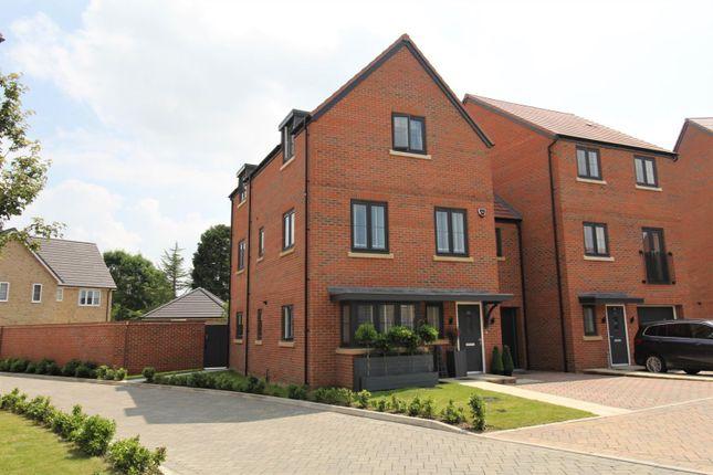 Thumbnail Town house for sale in Badger Way, Brampton, Huntingdon
