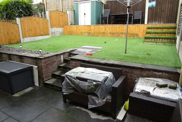 Rear Garden of Glenwood Drive, Middleton, Manchester M24
