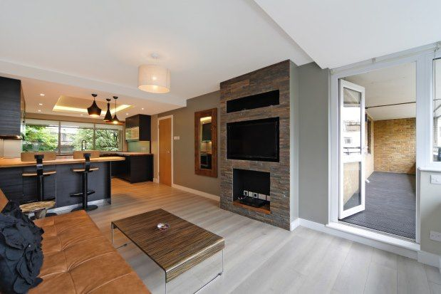 Thumbnail Flat to rent in Acklam Road, London