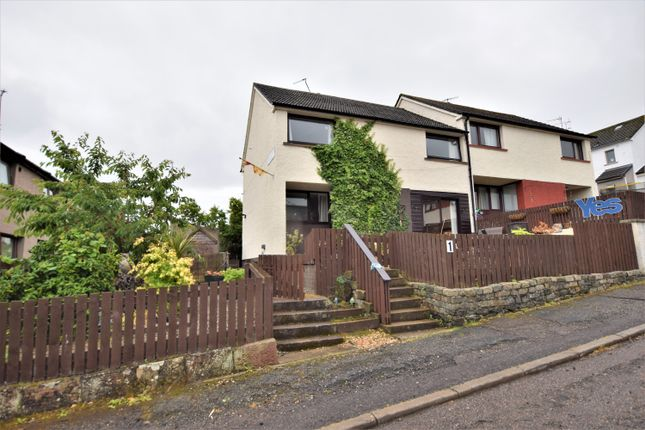 Thumbnail End terrace house for sale in Macrae Grove, Dingwall