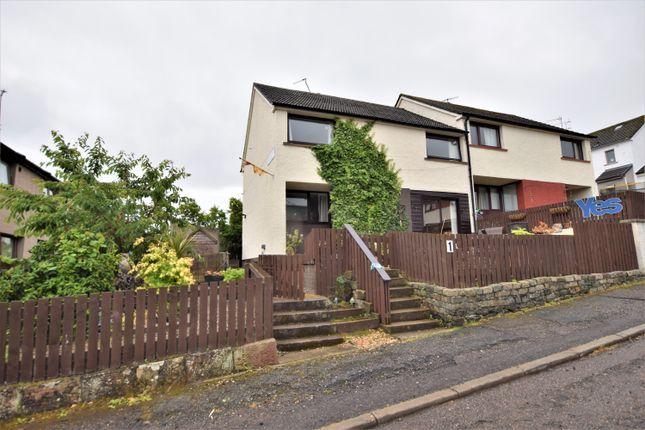 Thumbnail End terrace house for sale in Macrae Grove, Dingwall