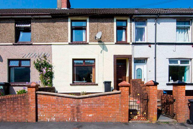 Thumbnail Terraced house for sale in Pleasant View, Aberfan