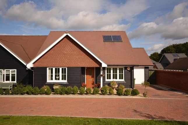 Thumbnail Detached bungalow for sale in Owl Close, Billingshurst