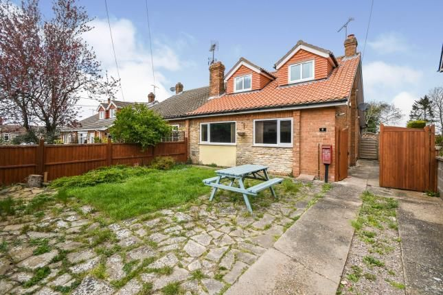 2 bed semi-detached house for sale in Blacksmiths Lane, Harmston, Lincoln, Lincolnshire LN5