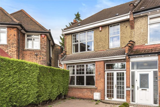 Thumbnail End terrace house for sale in River Avenue, Palmers Green, London