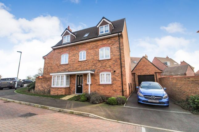 Thumbnail Detached house for sale in Kiln Drive, Stewartby, Bedford