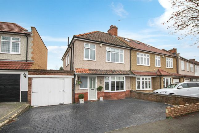 3 bed semi-detached house for sale in Selwyn Crescent, South Welling, Kent DA16