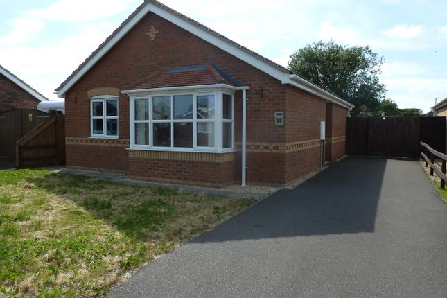 Thumbnail Detached bungalow for sale in Dymoke Road, Mablethorpe