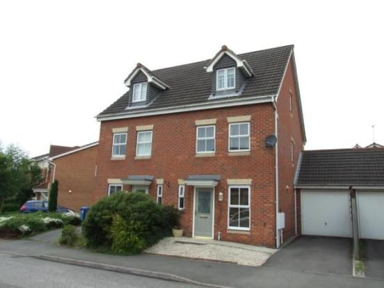 Thumbnail Semi-detached house to rent in Willowside Green, Spondon, Derby