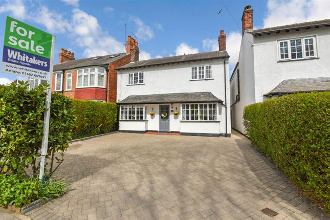 Thumbnail Cottage for sale in Tranby Lane, Anlaby, Hull