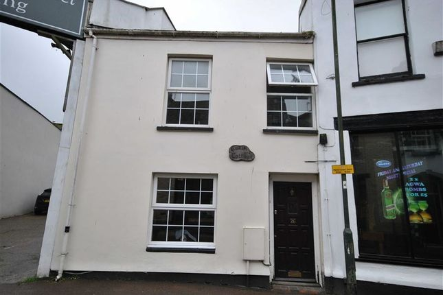 Thumbnail Semi-detached house to rent in Silver Street, Barnstaple, Devon