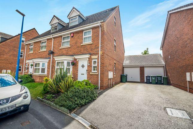Thumbnail Semi-detached house for sale in Scott Street, Great Bridge, Tipton