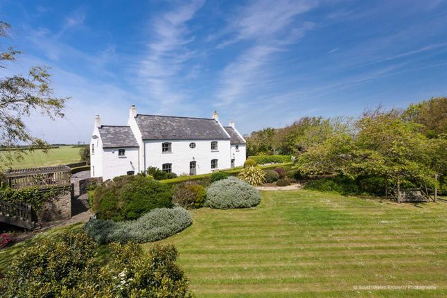 Thumbnail Detached house for sale in Downs Farmhouse, Wick Road, Llantwit Major