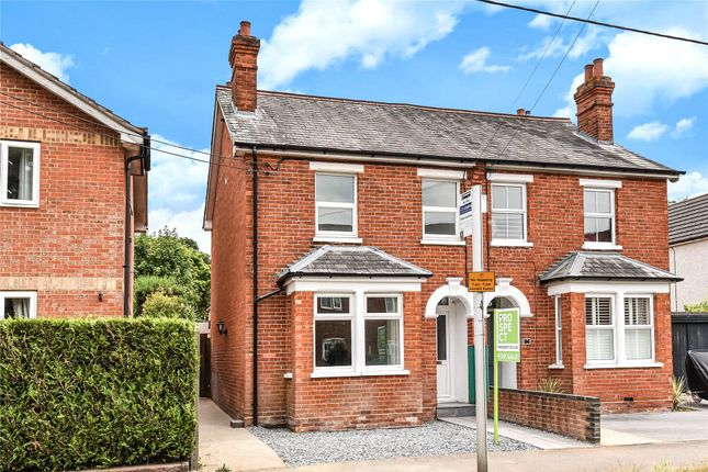 Thumbnail Semi-detached house to rent in College Road, College Town, Sandhurst, Berkshire