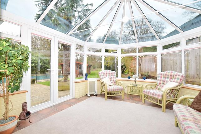 Thumbnail Detached bungalow for sale in Fryern Road, Fryern Park, Storrington, West Sussex