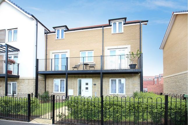 Thumbnail End terrace house for sale in Admiral Way, Exeter
