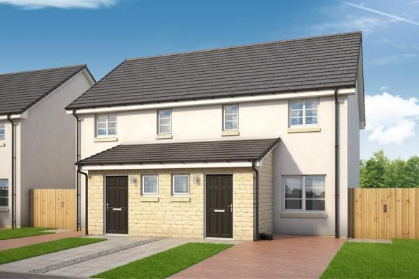 "Thumbnail Property for sale in ""The Lochy At Holmlea"" at Barbadoes Road, Kilmarnock"
