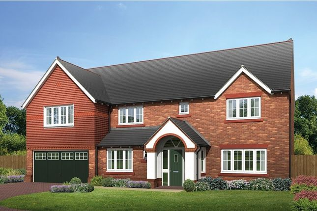 "Thumbnail Detached house for sale in ""Farnham"" at Common Lane, Lach Dennis, Northwich"