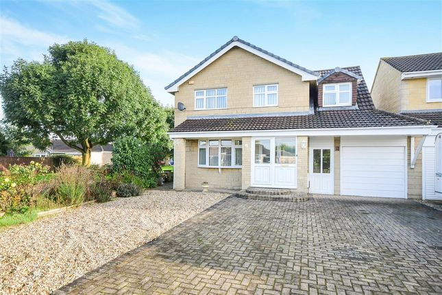 Thumbnail Link-detached house for sale in Tweed Close, Swindon