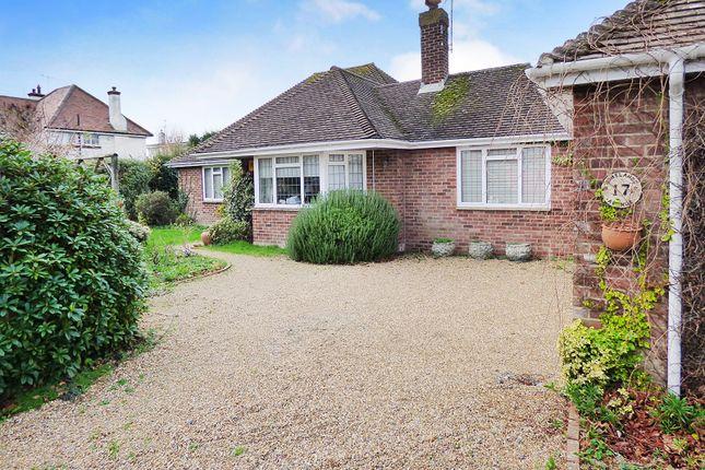 Thumbnail Detached bungalow for sale in Homelands Avenue, East Preston, Littlehampton