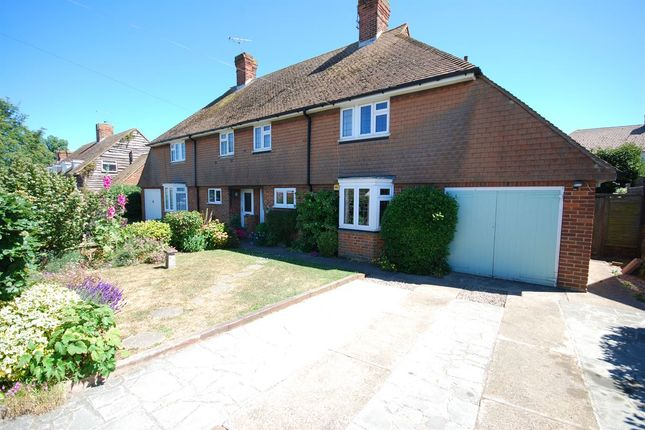 Thumbnail Semi-detached house for sale in Canterbury Road, Westgate-On-Sea