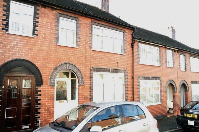 Thumbnail Terraced house to rent in Leveson Street, Stoke-On-Trent, Staffordshire
