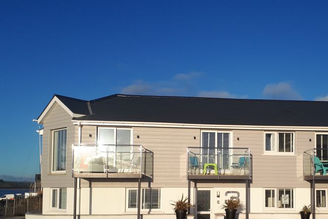 Thumbnail End terrace house for sale in Beach Cottages The Foreshore, Ferryside, Carmarthenshire United Kingdom