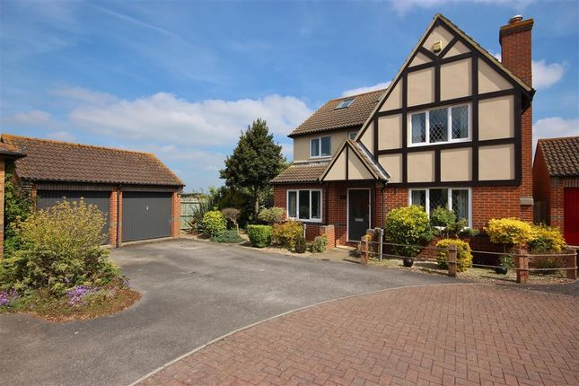 Thumbnail Detached house for sale in Churchward Close, Grove, Wantage