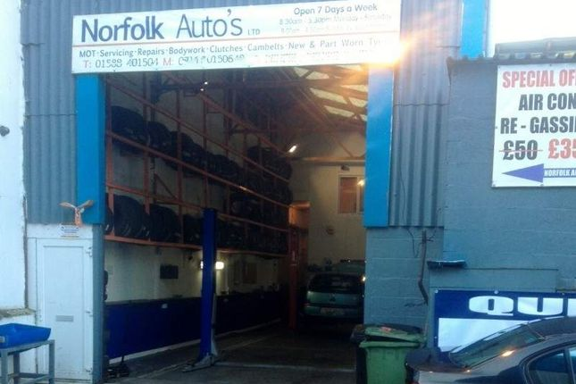 Parking/garage for sale in Unit 1F Guardian Road Industrial Estate, Norwich