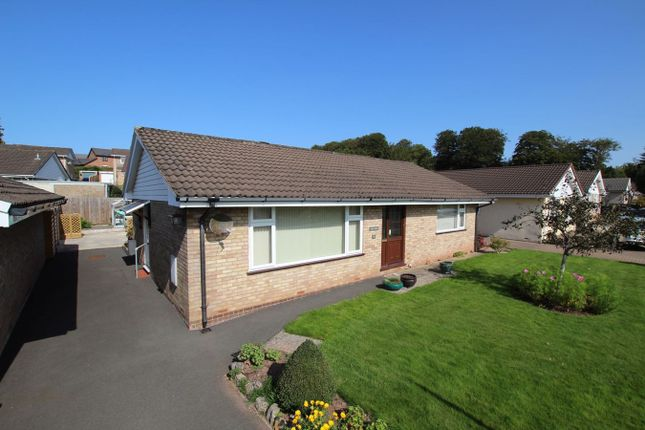 Thumbnail Detached bungalow for sale in Pendre Gardens, Brecon