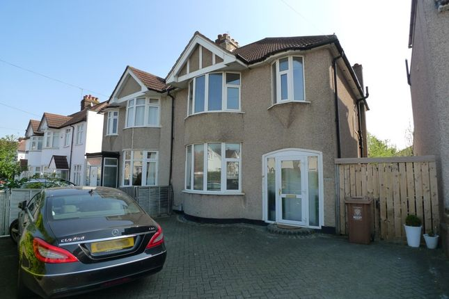 Thumbnail Semi-detached house to rent in Westwood Lane, Welling