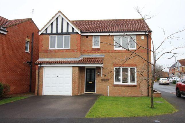 Thumbnail Detached house for sale in Austen Close, Billingham