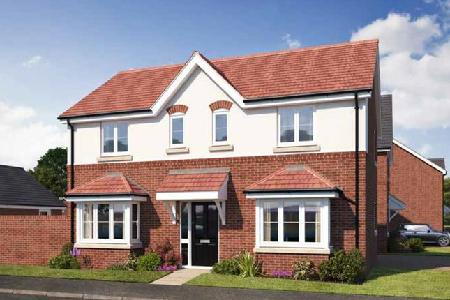 Thumbnail Detached house for sale in Gateway Avenue, Newcastle Under Lyme Staffordshire