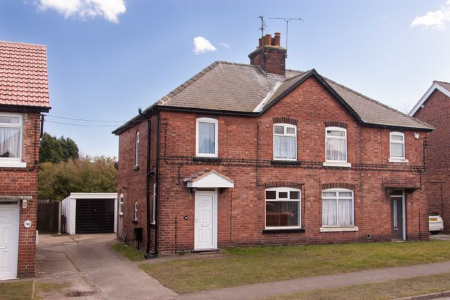 Thumbnail Semi-detached house for sale in Walesby Lane, New Ollerton