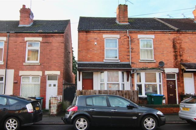 Thumbnail End terrace house for sale in Bramble Street, Coventry