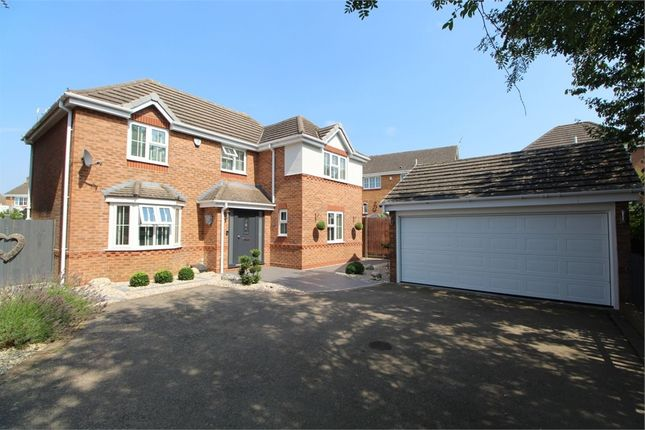 Thumbnail Detached house for sale in Speedwell Drive, Broughton Astley, Leicester