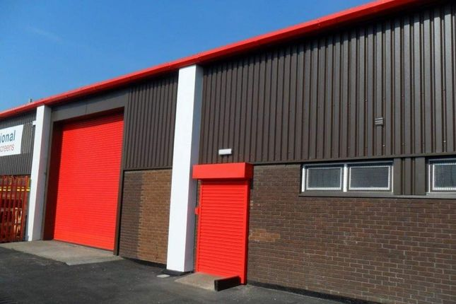 Thumbnail Industrial to let in Unit 3, Sandon Estate, Liverpool