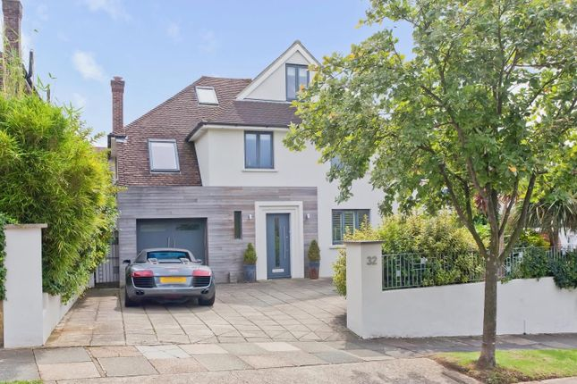 Thumbnail Detached house for sale in Tongdean Road, Hove