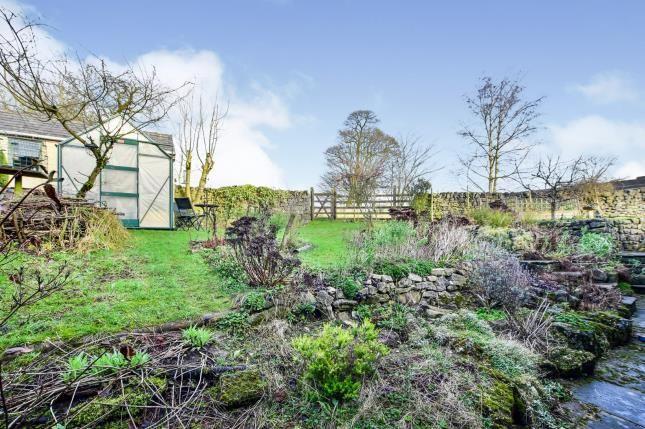 Garden of Honey Suckle Cottage, Smalldale, Buxton SK17