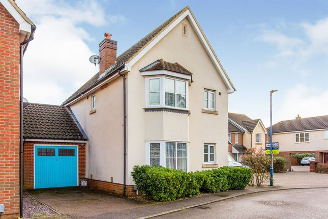 Thumbnail Detached house for sale in Cressbrook Drive, Great Cambourne, Cambridge