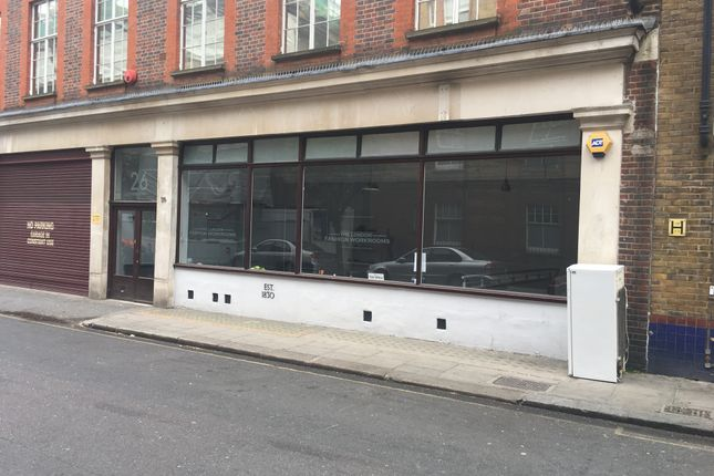 Thumbnail Retail premises to let in Parker Street, London