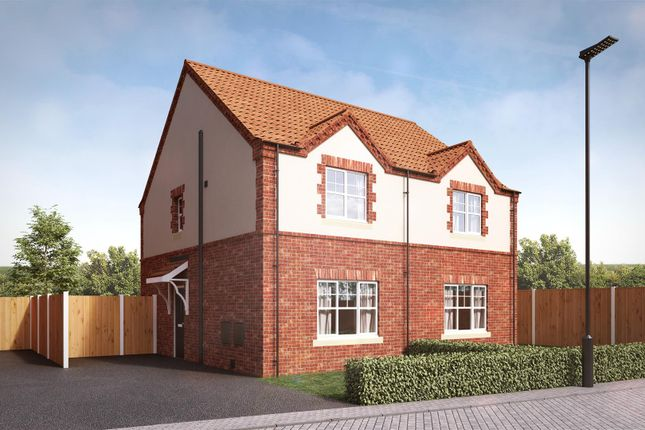 Thumbnail Semi-detached house for sale in Churchill Road, Yaddlethorpe Grange, Scunthorpe