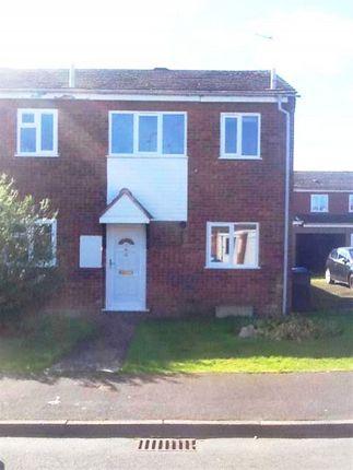 Thumbnail Terraced house to rent in Benson Close, Perton, Wolverhampton