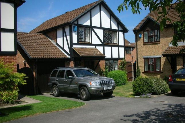 Thumbnail Detached house to rent in Horsebrass Drive, Bagshot